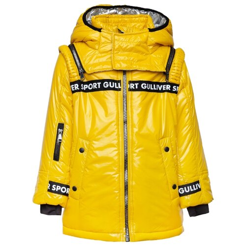 Купить Куртка Gulliver 219FBC4104 размер 98, желтый, Куртки и пуховики