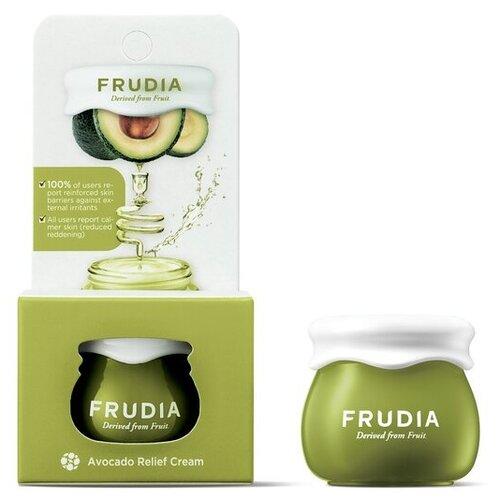 Frudia Avocado Relief Cream Восстанавливающий крем для лица с экстрактом авокадо, 10 г