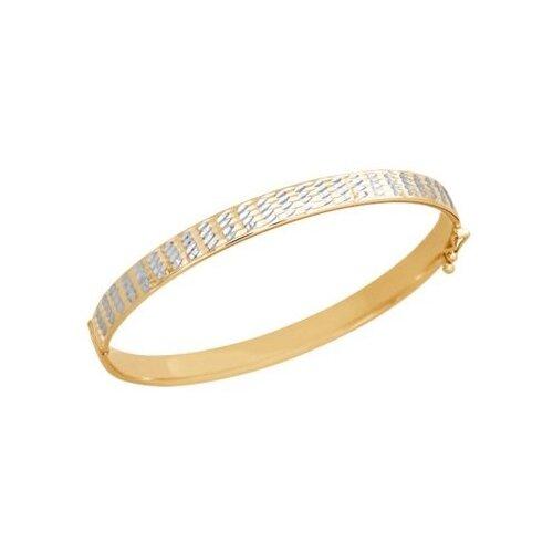 Фото - SOKOLOV Браслет из красного золота 050369, 18.5 см, 8.09 г браслет декоративный из золота 050369