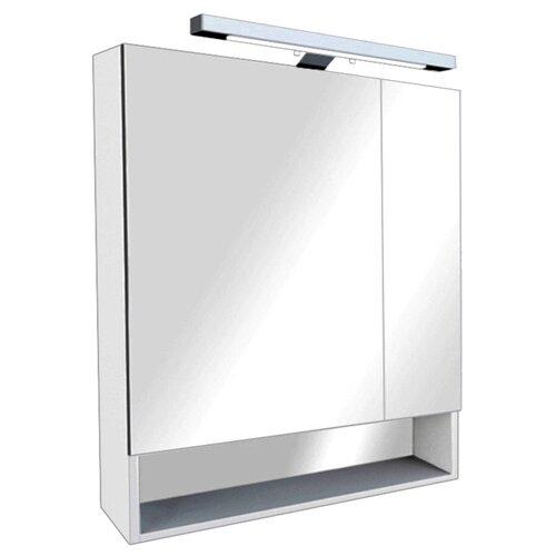 Шкаф-зеркало для ванной Roca Gap 70, (ШхГхВ): 70х12.9х85 см, белый глянец