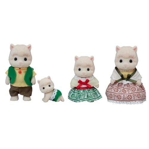 Купить Игровой набор Sylvanian Families Семья Альпака 5358, Игровые наборы и фигурки