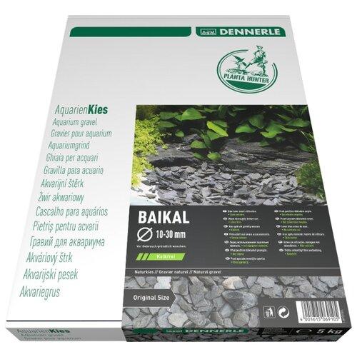 Грунт Dennerle PlantaHunter Baikal 10-30 мм, 5 кг черный