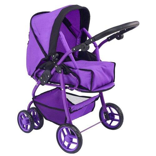 Купить Коляска-трансформер Buggy Boom Infinia (8457) фиолетовый, Коляски для кукол