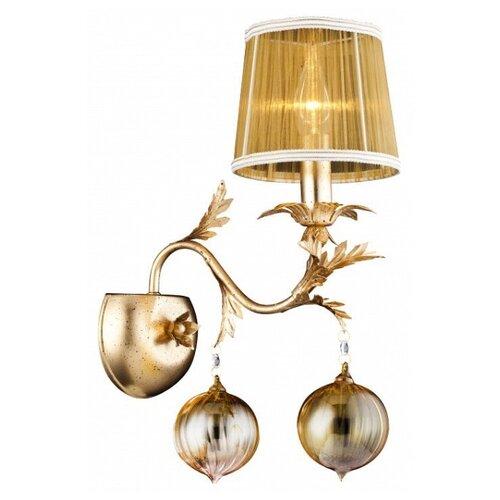 цена на Настенный светильник Arte Lamp Monarch A1199AP-1GO, 60 Вт