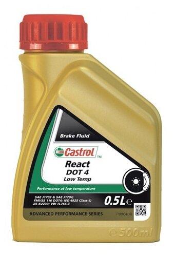 Тормозная жидкость Castrol React DOT 4 Low Temp 0.5 л