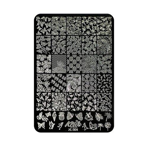 Купить Трафарет KLIO Professional №004 15 х 11 см black