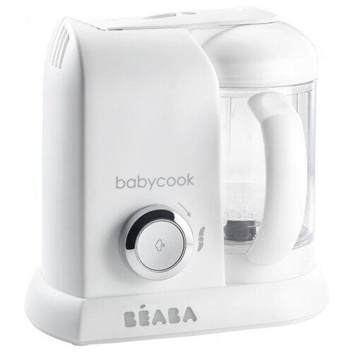 Блендер-пароварка Beaba Babycook white/silver béaba блендер пароварка beaba babycook macaron vanilla желтая