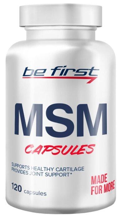 Препарат для укрепления связок и суставов Be First MSM (120 шт.)