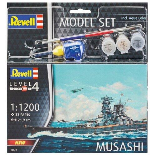 Купить Сборная модель Revell Model Set Musashi(66822) 1:1200, Сборные модели