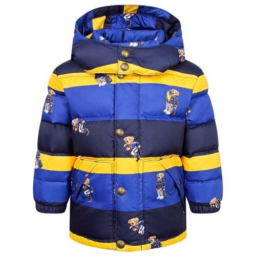 Купить Куртка Ralph Lauren размер 80, синий/полоска, Куртки и пуховики