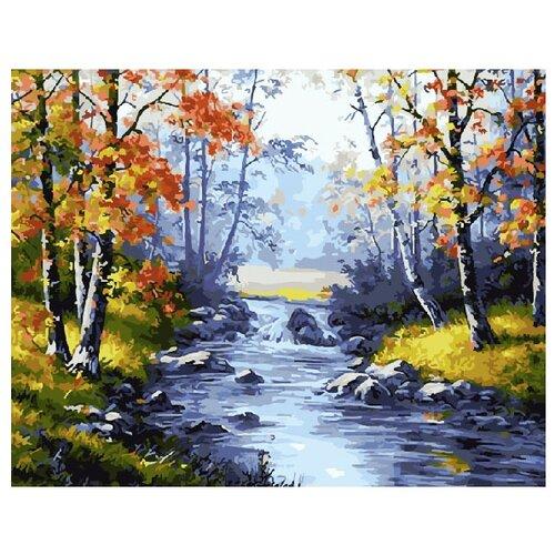 Купить ВанГогВоМне Картина по номерам Осенняя природа , 40х50 см (ZX 10106), Картины по номерам и контурам