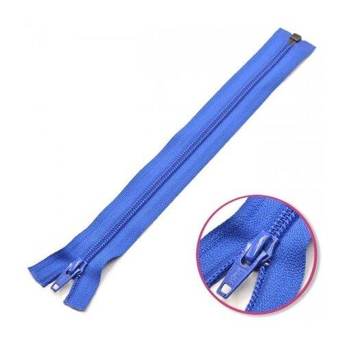 Купить YKK Молния витая разъёмная 0004706/55, 55 см, королевский синий/королевский синий, Молнии и замки