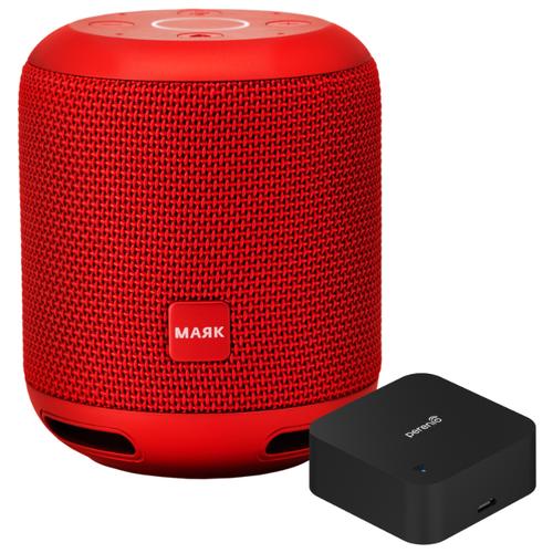 Умная колонка Prestigio Smartmate Маяк Edition, красный