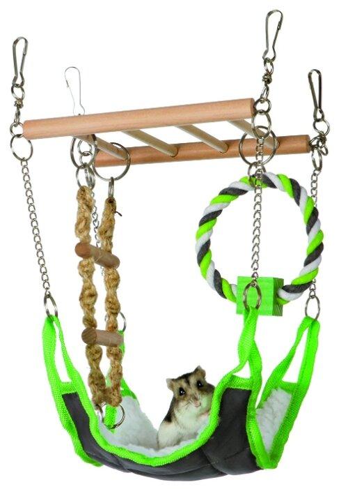 Гамак для грызунов TRIXIE Suspension Bridge with