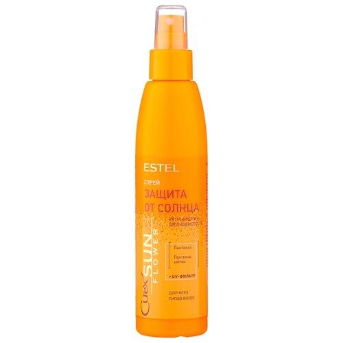Фото - Estel Professional CUREX SunFlower Спрей для волос «Увлажнение и защита от UV-лучей», 200 мл estel professional curex sunflower спрей для волос увлажнение и защита от uv лучей 200 мл