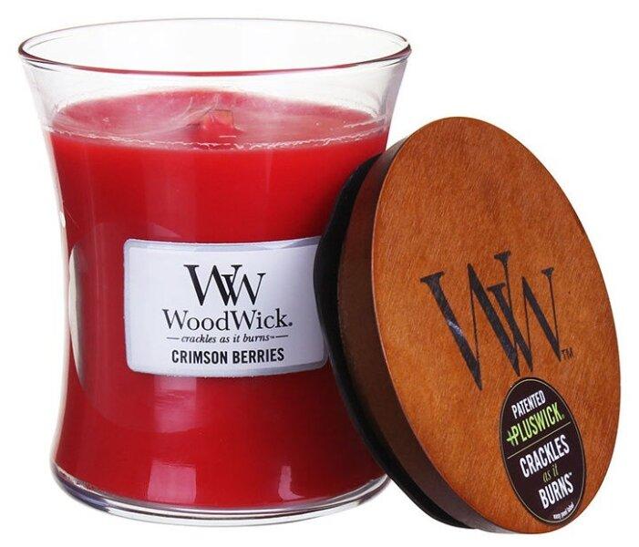 Свеча WoodWick Crimson Berries (92080), средняя