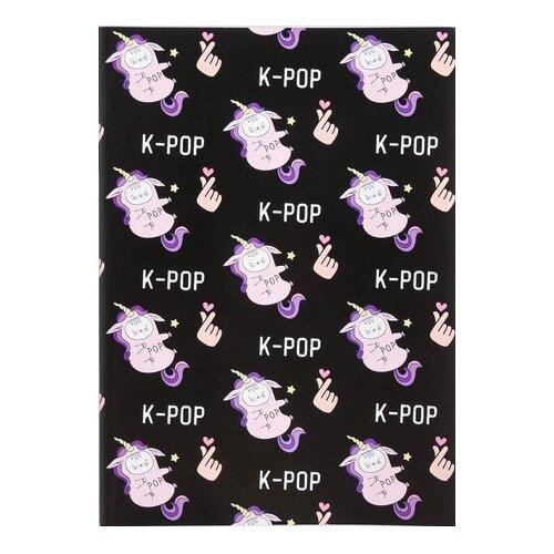 Купить Блокнот ArtFox k-pop А6, 12 листов (4647678), Блокноты