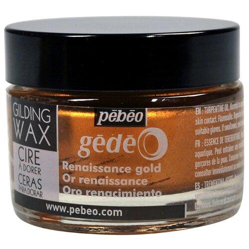 Воск Pebeo для золочения Gedeo 30 мл золото ренессанс
