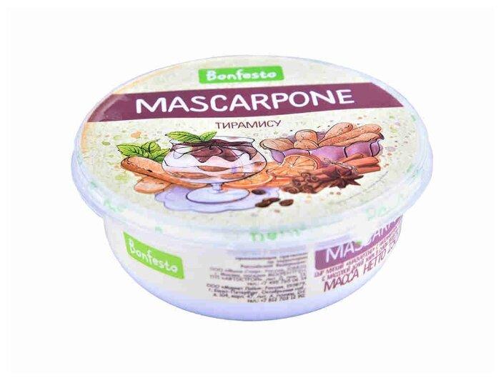 Сыр Маскарпоне Bonfesto Тирамису 39%, 250 г