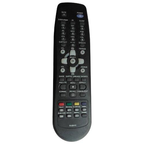 Пульт ДУ Huayu R-55H11 для телевизоров Daewoo DLT-19L1S/DLT-20W2A/DLT-26C3S/DLT-19L1N/DLT-20J1A/LT-19L2S черный