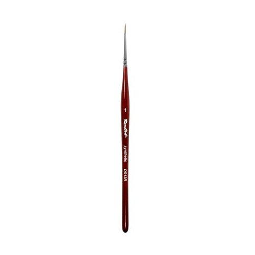 Кисть для дизайна ногтей DS13R №1 Roubloff коричневый кисть для дизайна ногтей dsr3r 4 roubloff коричневый