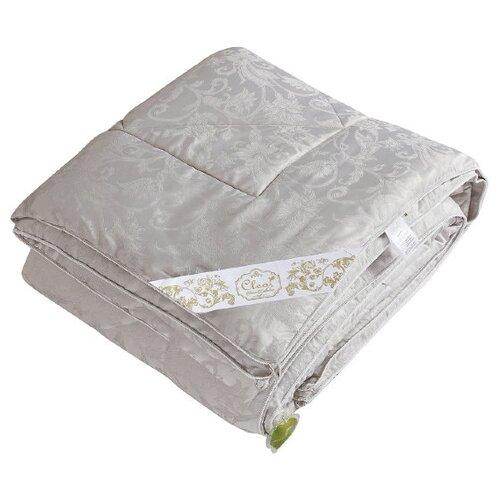 Одеяло Cleo Silk Dreams, всесезонное, 200 х 220 см (аргентус)