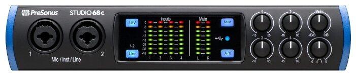 Внешняя звуковая карта PreSonus Studio 68c