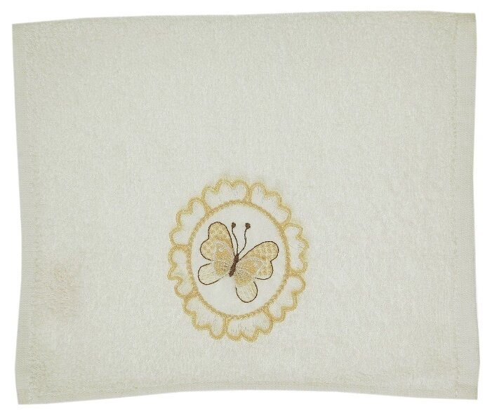 La Pastel Полотенце Бабочка кухонное 30х50 см розовый