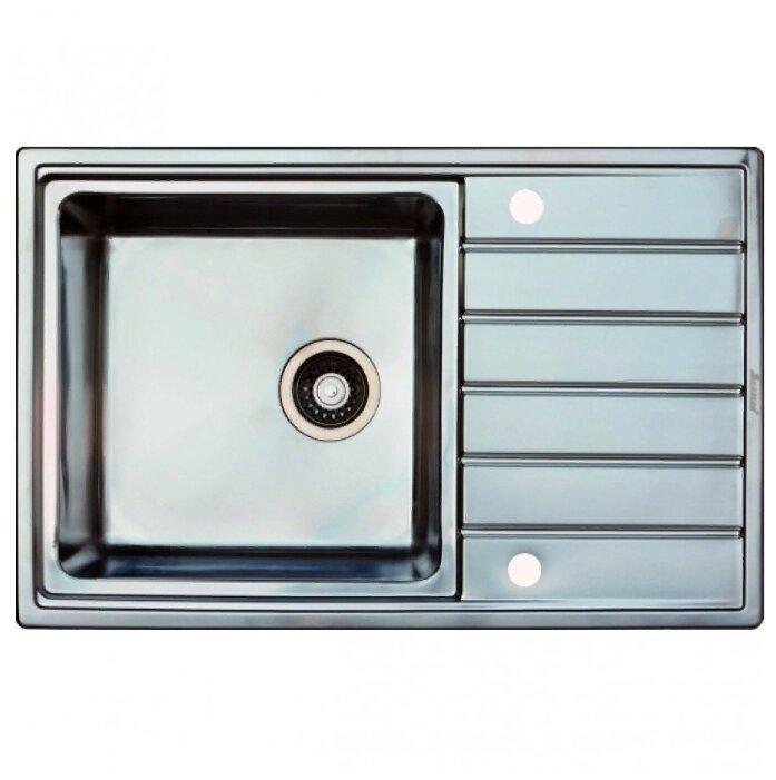 Врезная кухонная мойка Seaman ECO Roma SMR-7850A.B 78х50см нержавеющая сталь — купить по выгодной цене на Яндекс.Маркете