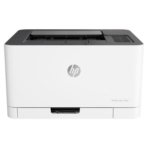Принтер HP Color Laser 150nw белый/черный
