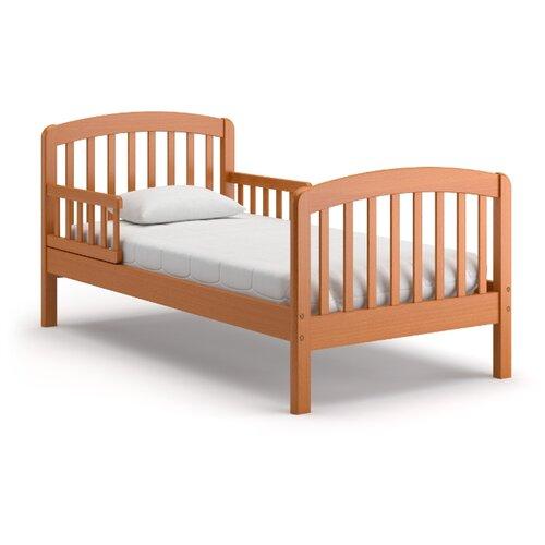 Кровать детская Nuovita Incanto, размер (ДхШ): 167.5х87.5 см, спальное место (ДхШ): 160х80 см, каркас: массив дерева, цвет: ciliegio
