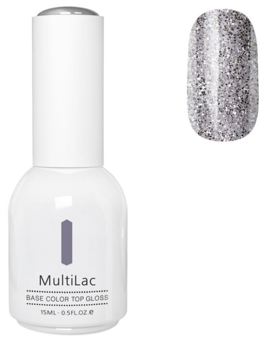 Гель-лак Runail MultiLac с блестками, 15 мл