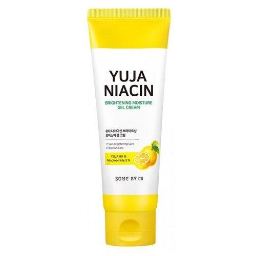 Some By Mi Yuja Niacin Brightening Moisture Gel Cream Крем-гель с юдзу для выравнивания тона лица, 100 мл chi luxury black seed oil curl defining cream gel