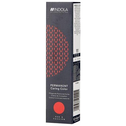 Indola Permanent Caring Color Стойкая крем-краска для волос Red & Fashion, 60 мл, 6.84, Темный русый шоколадный медный крем краска для волос indola color red