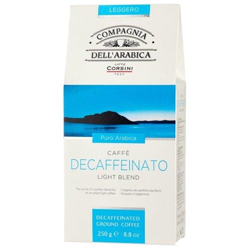 Фото - Кофе молотый Compagnia Dell` Arabica Decaffeinato, 250 г кофе молотый compagnia dell arabica brasil santos 125 г