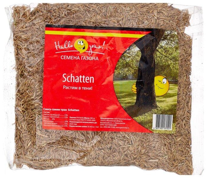 Hallo Gras! Смесь семян трав Schatten, 0.3 кг