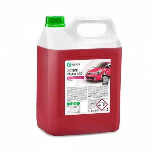 GraSS Активная пена для бесконтактной мойки Active Foam Red 5.8 кг