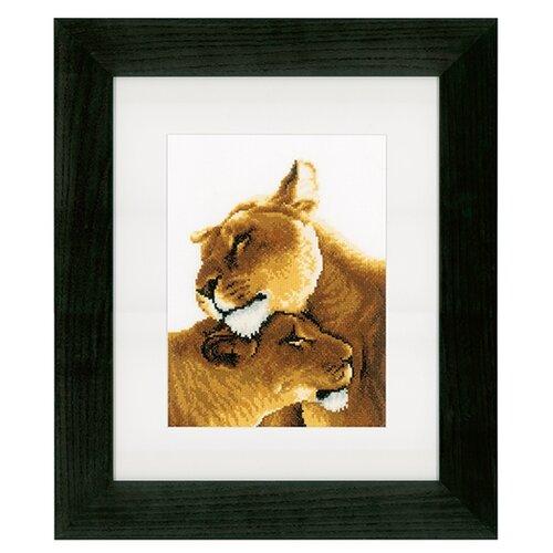 Купить Набор для вышивания Львы 20 х 27 см PN-0153805, Vervaco, Наборы для вышивания