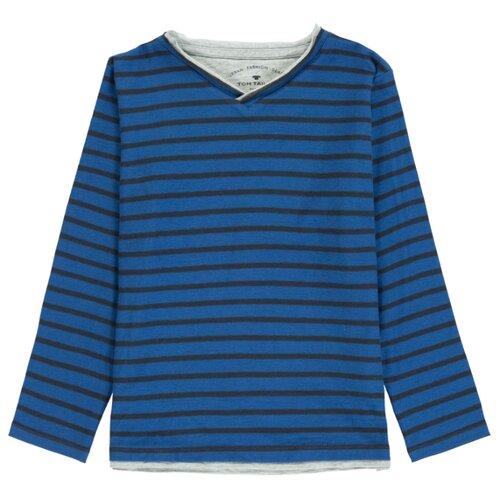 Лонгслив Tom Tailor размер 104/110, синий лонгслив tom tailor tom tailor to172emibbn8