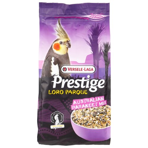 Versele-Laga корм Prestige PREMIUM Loro Parque Australian Parakeet Mix для средних попугаев 1000 г