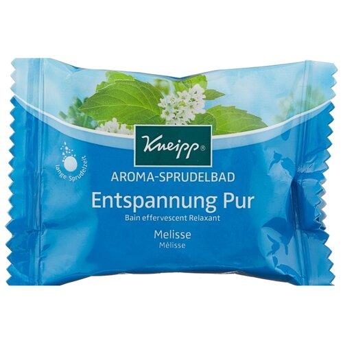Kneipp Соль для ванн ароматическая с Мелиссой, шипучая таблетка, 80 г ароматическая соль для ванн canaan ароматическая соль для ванн
