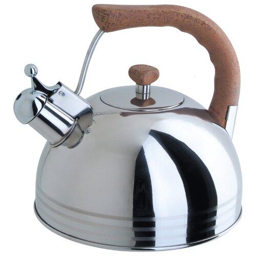 Фото - REGENT inox Чайник со свистком Linea TEA LUXE 93-2503B.2 3.8 л, серебристый чайник 2 6 л со свистком regent tea 93 tea 28