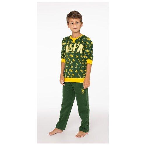 Пижама U.S. POLO ASSN. размер 8, зеленый
