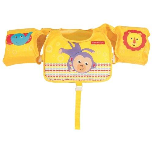 Жилет для плавания Bestway Fisher Price 93522 BW желтыйАксессуары для плавания<br>