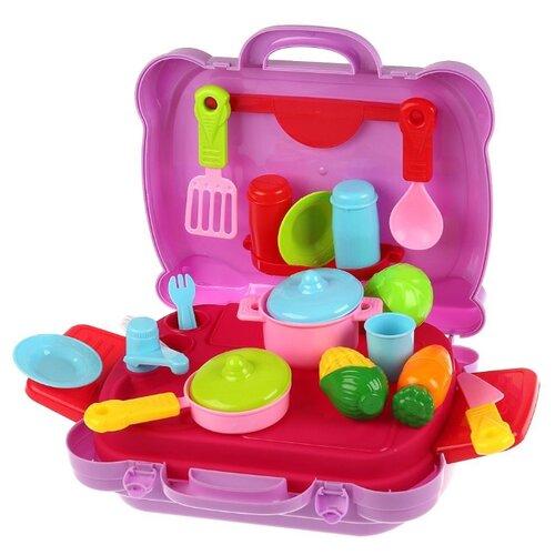 Купить Кухня Играем вместе Сказочный патруль ZY626548-R розовый/голубой/зеленый, Детские кухни и бытовая техника