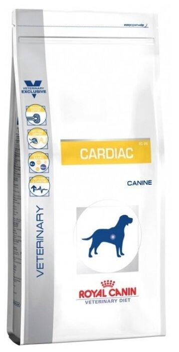 Корм для собак Royal Canin Cardiac EC26 при болезнях сердца, при заболеваниях почек 14 кг