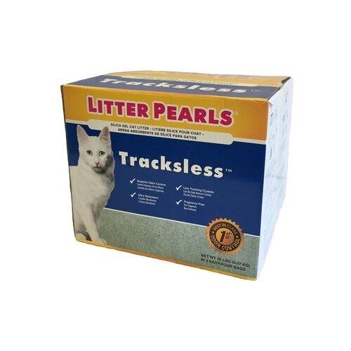 Фото - Впитывающий наполнитель Litter Pearls силикагелевый Tracksless 3кг, 3шт наполнитель intersand extreme classic hygienic litter впитывающий без ароматизатира для кошек 6 87кг л14212