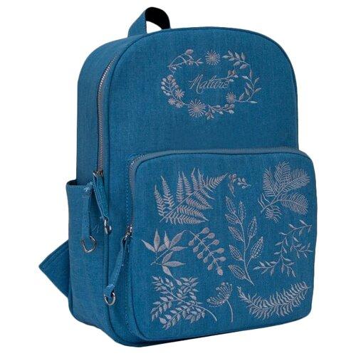 Купить Феникс+ Рюкзак 46670, голубой, Рюкзаки, ранцы