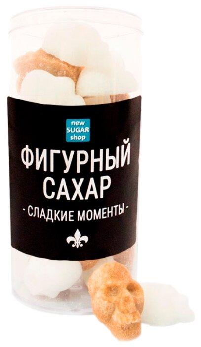 Сахар New SUGAR shop фигурный Сладкие моменты Черепа сахарные тростниковые и белые 0.15 кг