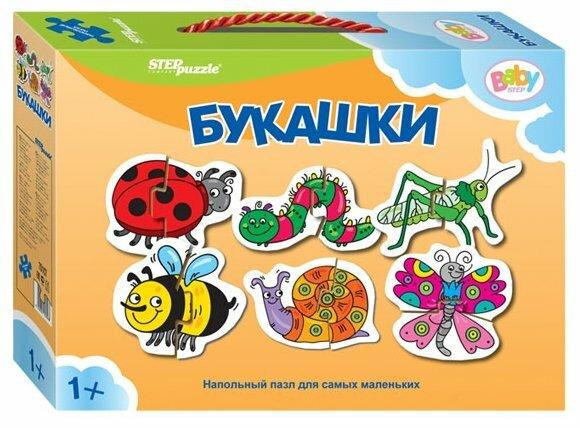 Набор пазлов Step puzzle Baby Step Букашки (70107)